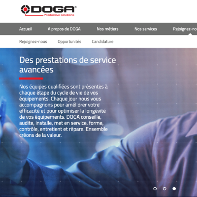 Doga.fr - Development Drupal 8